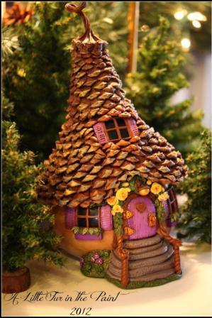 Сказочные домики из тыквы от Анны